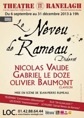 affiche le neveu de Rameau