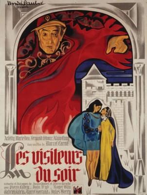 affiche du film Les Visiteurs du Soir