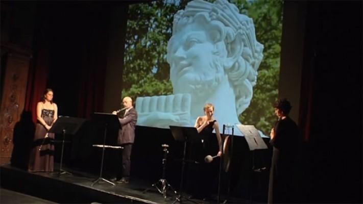 photo du spectacle les 100 ans de Syrinx de Debussy