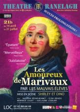 Les Amoureux de Marivaux au Théâtre le Ranelagh