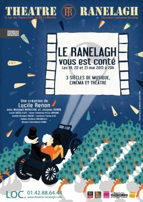 Le Ranelagh vous est conté au Théâtre le Ranelagh