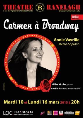 Carmen à Broadway au Théâtre le Ranelagh