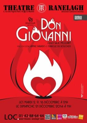 Don Giovanni au Théâtre le Ranelagh
