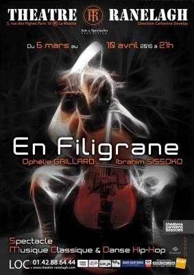 En Filigrane au théâtre Le Ranelagh