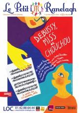 Debussy, Miss et Chouchou au Théâtre le Ranelagh