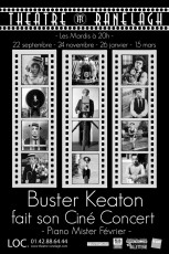 buster keaton affiche