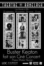 Buster Keaton fait son Ciné-Concert au Théâtre le Ranelagh