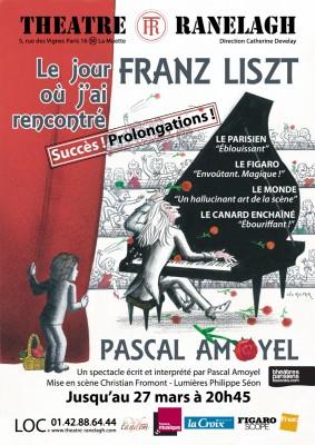 Le jour où j'ai rencontré Franz Liszt de Pascal Amoyel au Théâtre le Ranelagh