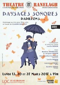 Paysages Sonores - Papillons au Théâtre le Ranelagh