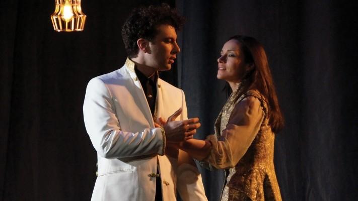L'Aigle à Deux Têtes au Théâtre le Ranelagh avec Alexis Moncorgé et Delphine Depardieu