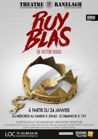 Ruy Blas de Victor Hugo théâtre Le Ranelagh