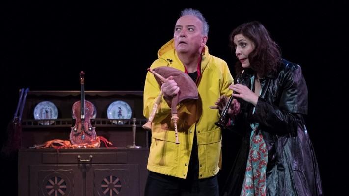 Visuel L'étagère Duo au Théâtre le Ranelagh