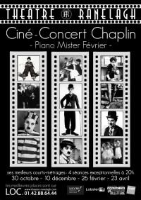 Ciné-Concert Chaplin au Théâtre le Ranelagh