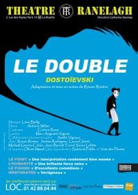 affiche du spectacle le double au Théâtre le ranelagh