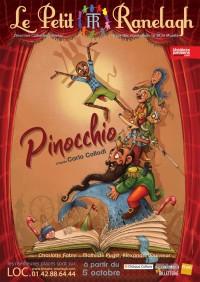 Affiche du spectacle Pinocchio au Théâtre le Ranelagh