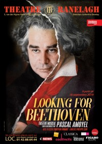 Affiche Looking for Beethoven au Théâtre le Ranelagh
