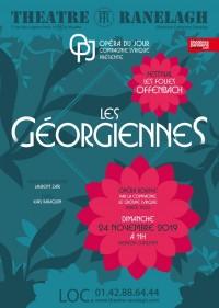 Affiche Les Georgiennes au Théâtre le Ranelagh