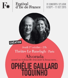 Ophelie Gaillard et Toquinho