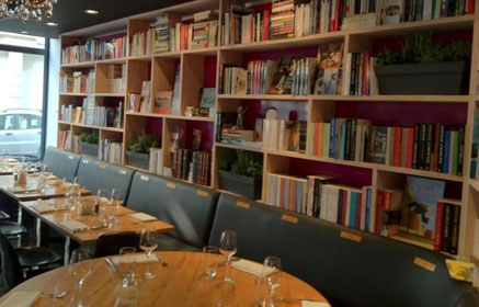 photo du restaurant la librairie