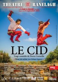 Affiche Le Cid au Théâtre le Ranelagh