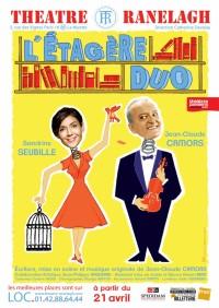 l'étagère duo théâtre ranelagh