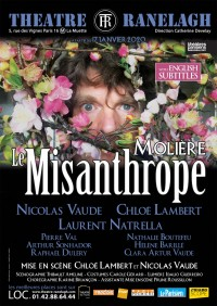 Le Misanthrope au Théâtre Le Ranelagh