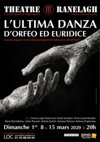 L'ultima danza d'Orfeo ed Euridice au Théâtre le Ranelagh