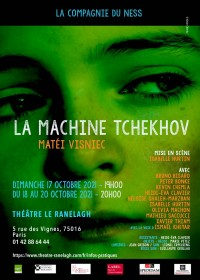 La Machine Tchekhov theatre le ranelagh