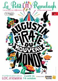 affiche augustin pirate du nouveau monde
