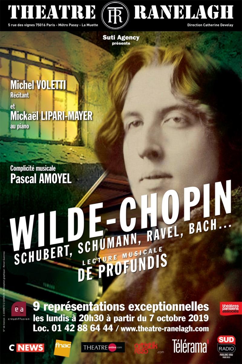 Affiche Wilde Chopin au Théâtre le Ranelagh