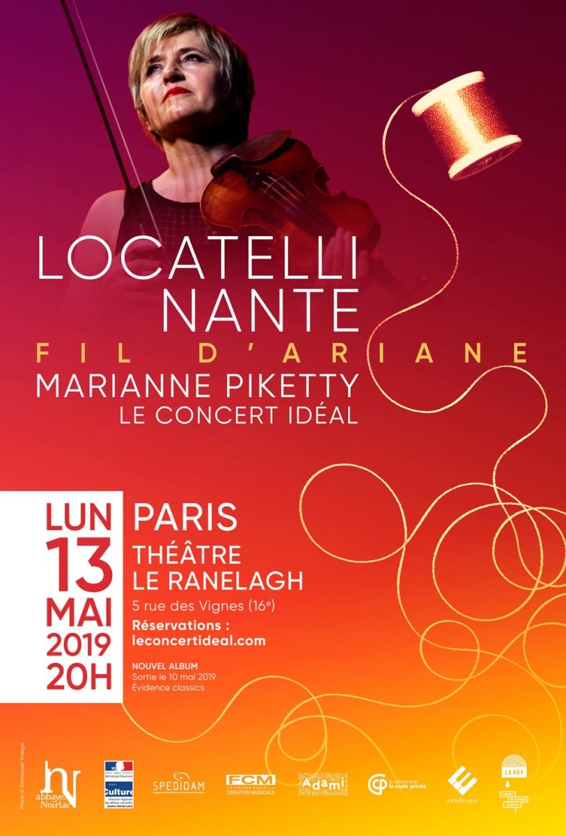 Marianne Piketty au Théâtre le Ranelagh