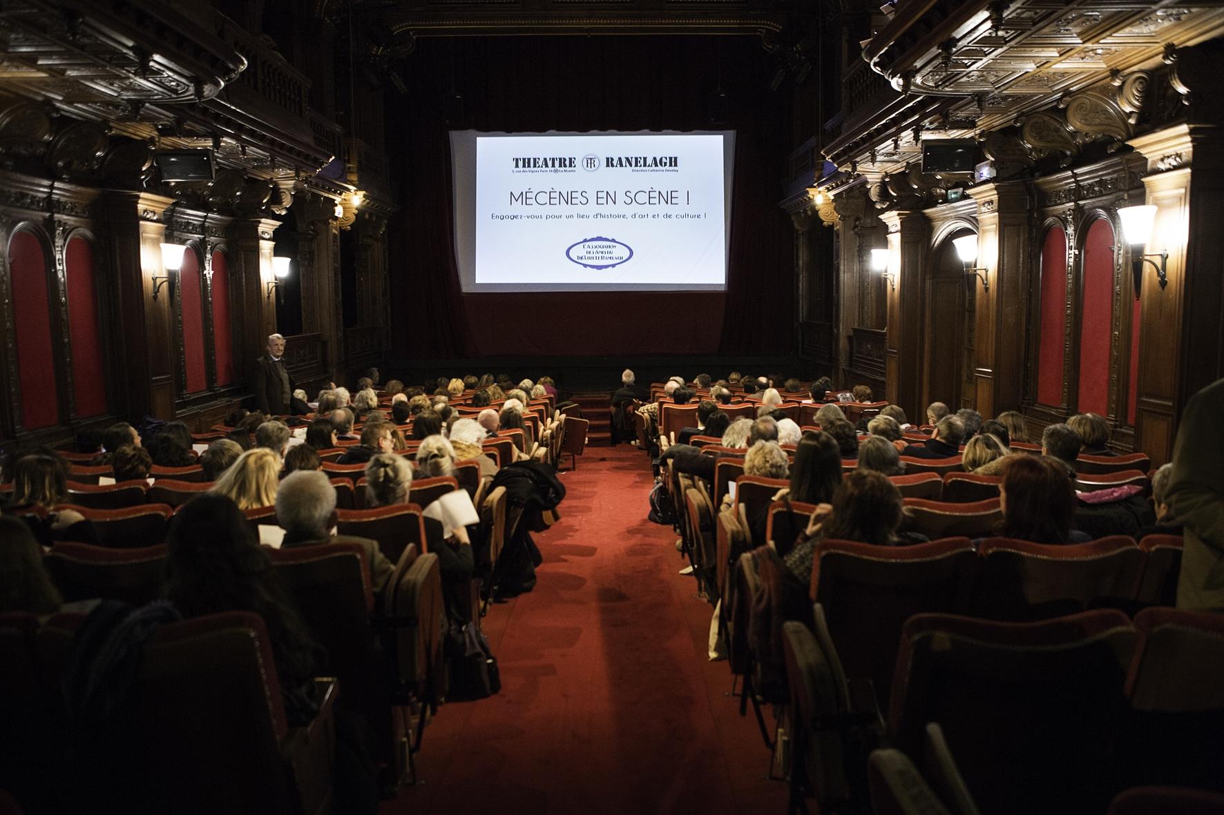 Soirée Mécènes en Scène 1 au Théâtre le Ranelagh